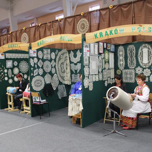 XIV Międzynarodowy Festiwal Koronki Klockowej